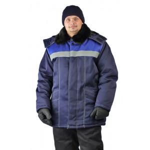 """Bunda zimní """"Ural"""" (Modrá)"""