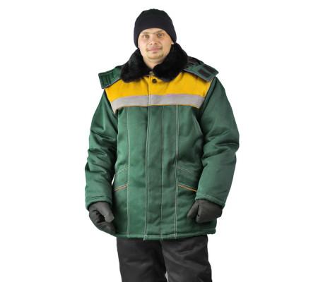 """Bunda zimní """"Ural"""" (Zelená)"""