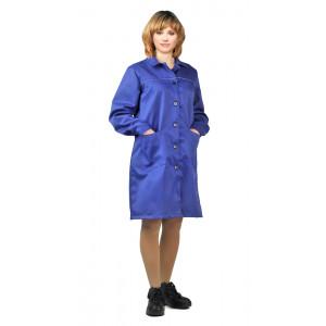 """Pracovní plášť pro ženy """"Valent"""" (Světlé Modrá)"""