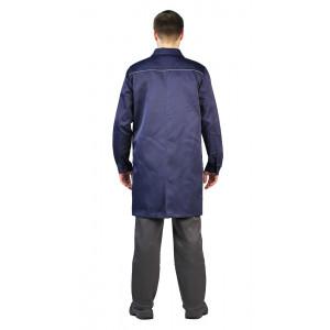 """Pracovní plášť """"Valent"""" (Modrá)"""