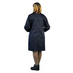"""Pracovní plášť pro ženy """"Valent"""" (Tmavé Modrá)"""