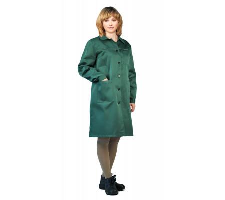 """Pracovní plášť pro ženy """"Valent"""" (Tmavé Zelená)"""