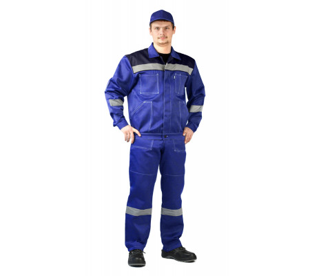 """Letní pracovní souprava """"Legion"""" (Světlé Modrá/Modrá)"""