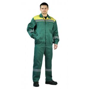 """Letní pracovní souprava """"Legion"""" (Tmavé Zelená/Žluta)"""