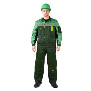 """Letní pracovní souprava """"Rolf"""" (Tmavé Zelená/Světlé Zelená)"""