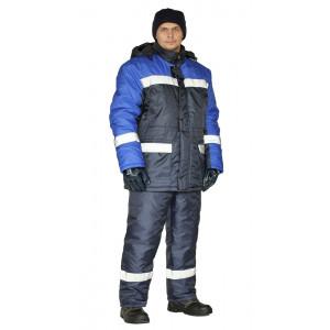 """Zimní pracovní souprava """"Skandyn-SOP"""" (Světlé Modrá/Tmavé Modrá)"""
