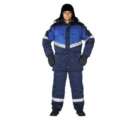 """Zimní pracovní souprava """"Vektor-ultra"""" (Tmavé Modrá)"""