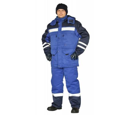 """Zimní pracovní souprava """"Zimník"""" (Světlé Modrá/Tmavé Modrá)"""